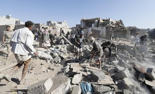 طائرات التحالف السعودي شنت 24 غارة جوية على محافظات مأرب والجوف وصعدة وحجة والبيضاء