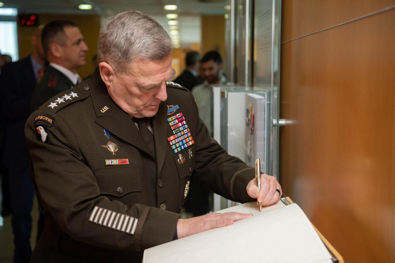 رئيس هيئة الأركان المشتركة الجنرال مارك ميلي