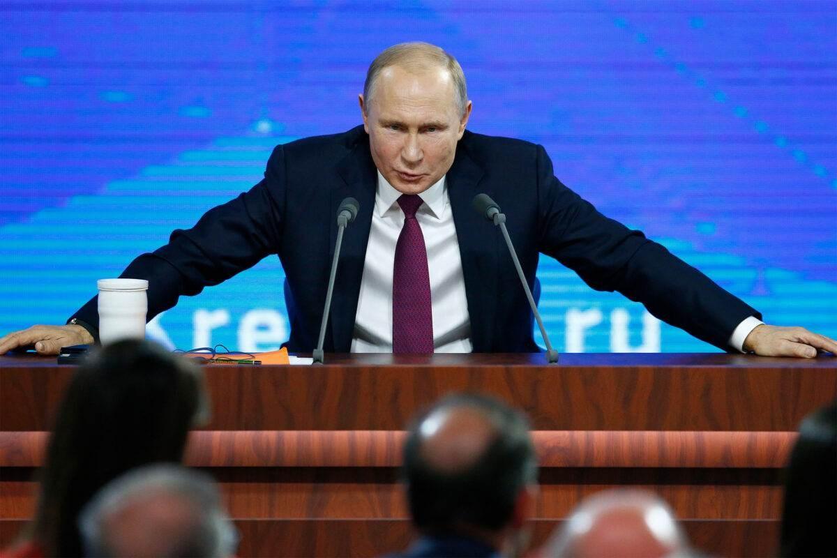 الرئيس الروسي فلاديمير بوتين.