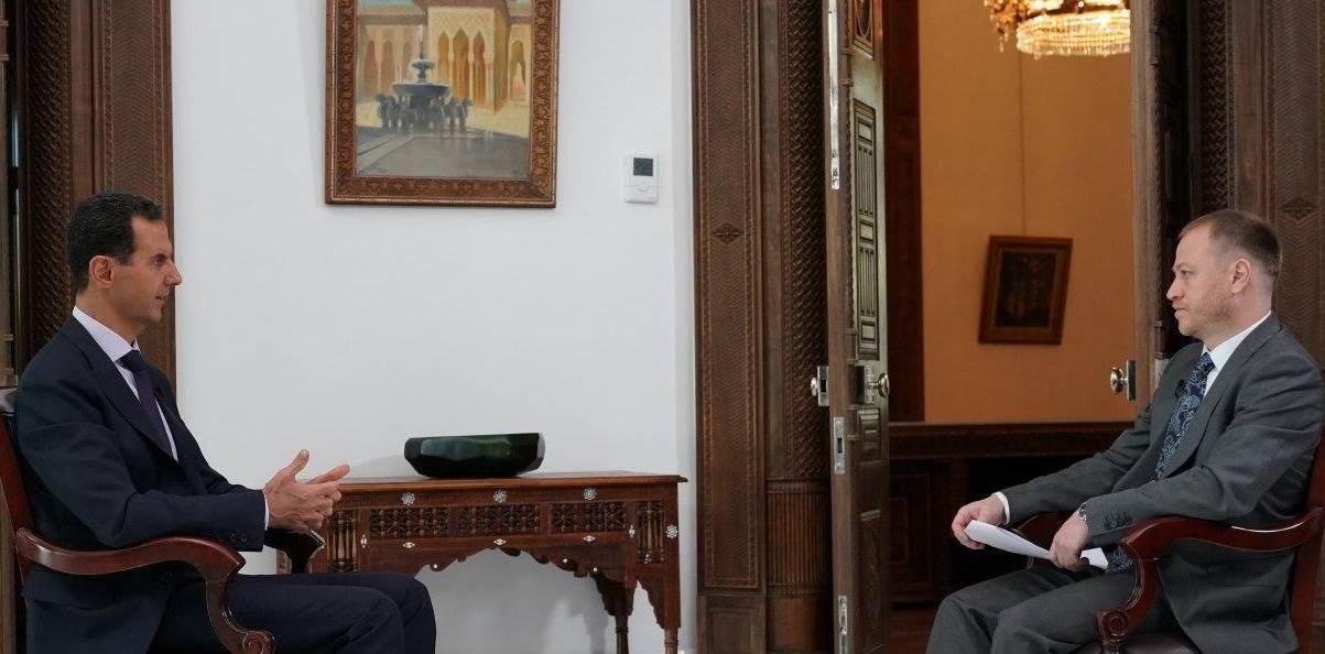 الأسد: ما من مفاوضات على الإطلاق مع