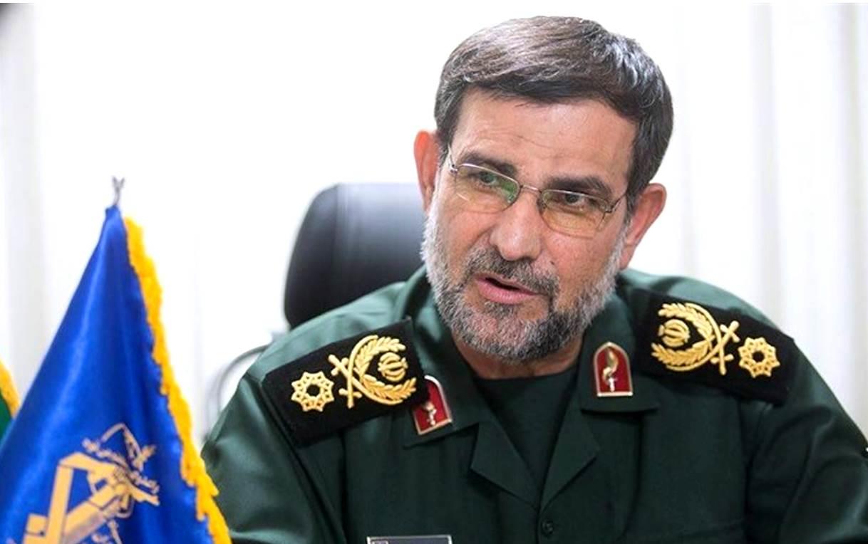 قائد القوة البحرية لحرس الثورة الاسلامية الأدميرال