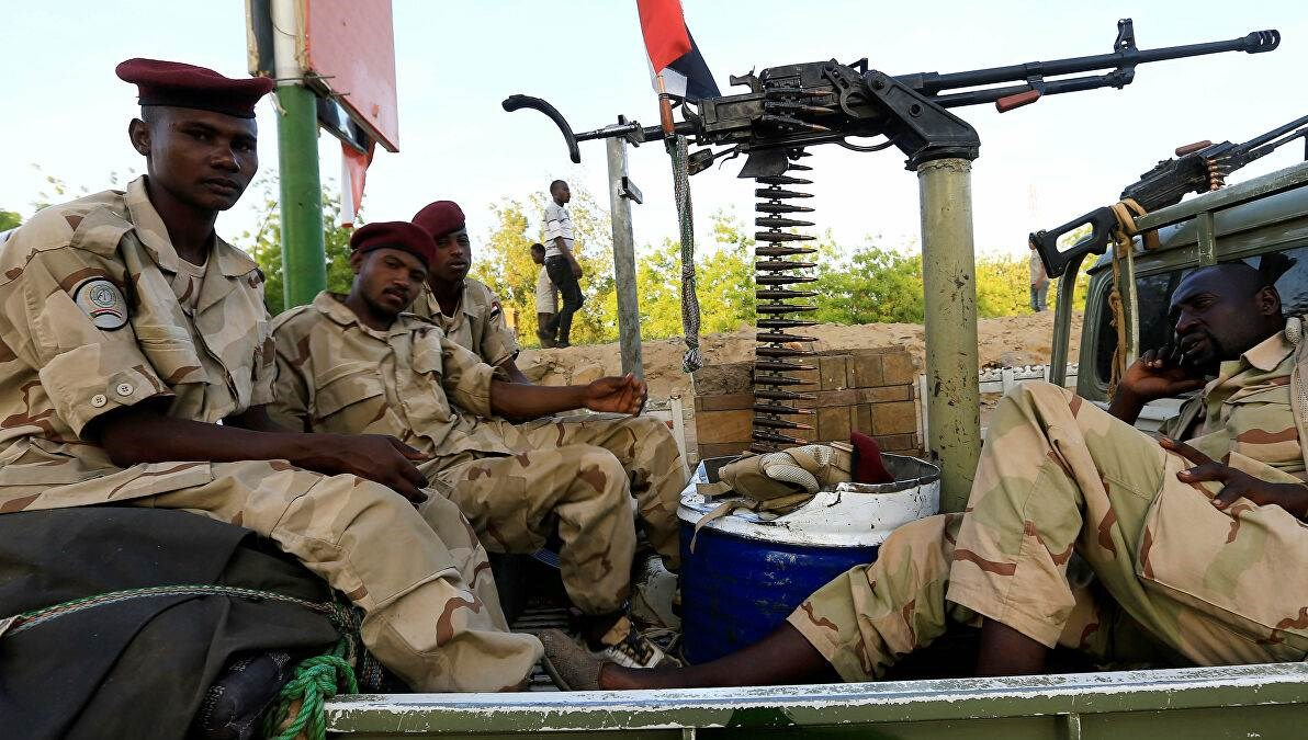 صورة لجنود سودانيين في اليمن (رويترز - أرشيف)