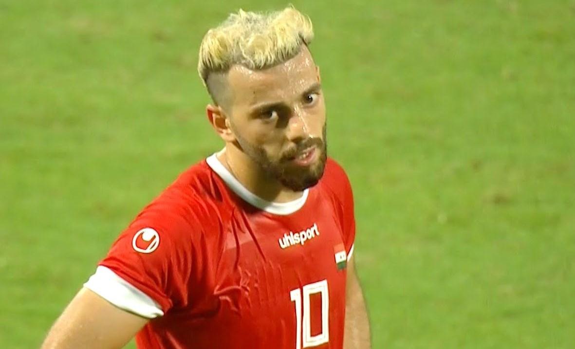 سجّل محمد المواس هدف الفوز لسوريا