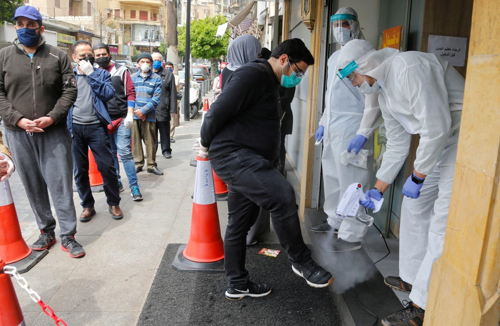 تخطى عدد الإصابات بفيروس كورونا في لبنان عتبة 100 ألف إصابة