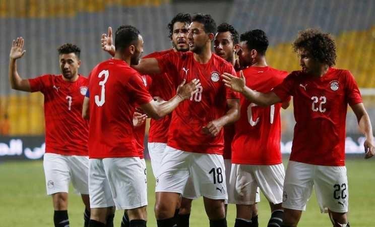 فازت مصر على توغو 1-0