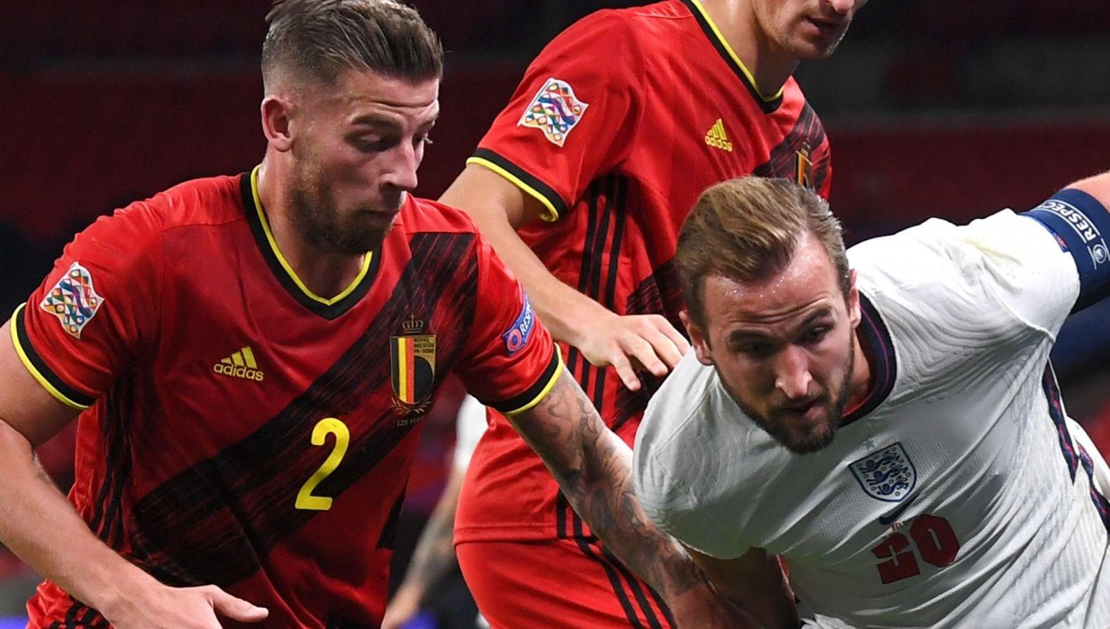 مباراة قمّة بين بلجيكا وإنكلترا