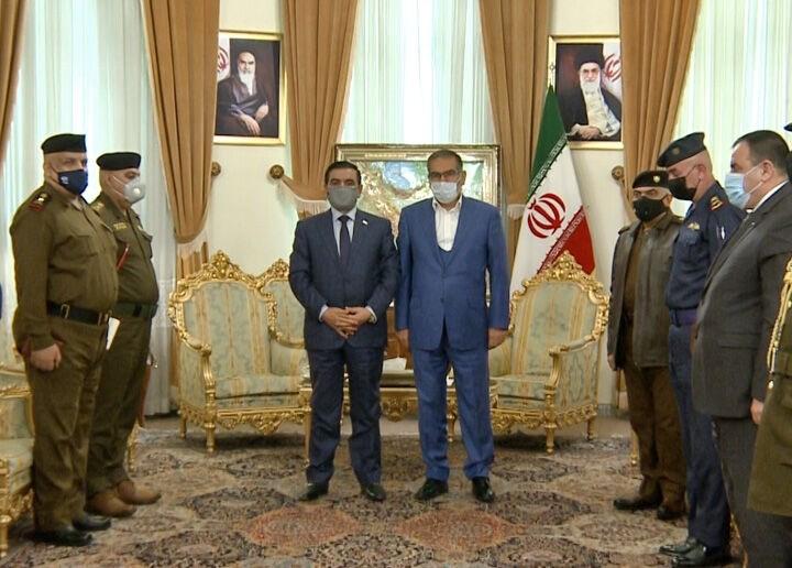 شمخاني لسعدون: أمن الحدود العراقية الإيرانية مسألة مهمة جداً لطهران