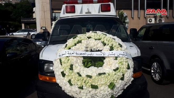 سوريا تشيّع جثمان وزير الخارجية السوري الراحل وليد المعلم