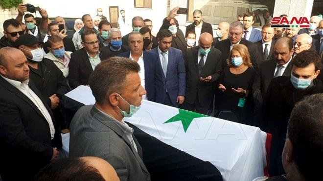 تشييع جثمان وزير الخارجية السوري الراحل وليد المعلم