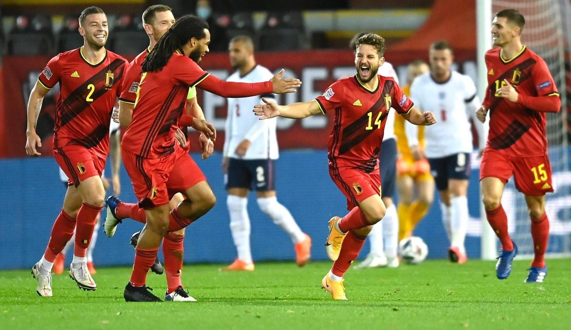 فازت بلجيكا على إنكلترا 2-0