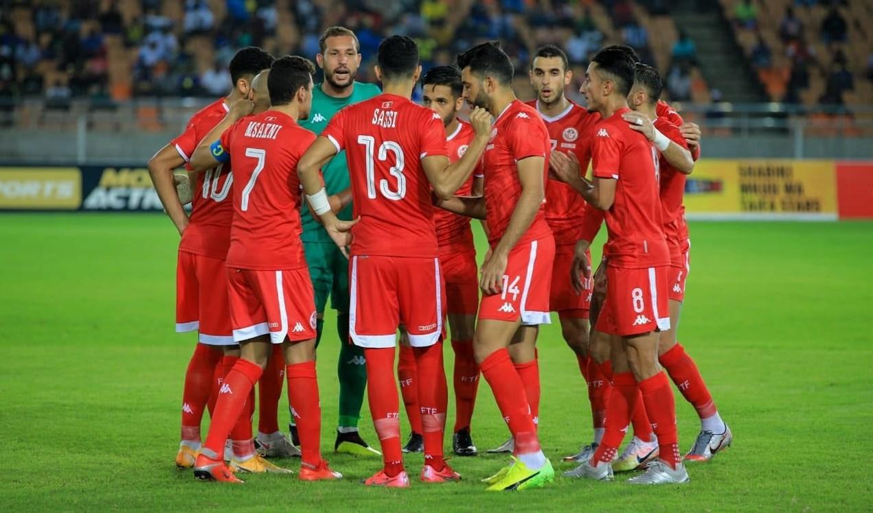 لاعبو منتخب تونس