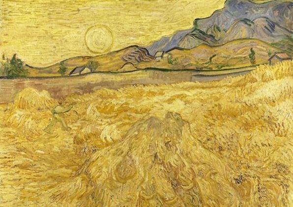بحر الذهب المُتماوِج (فنسنت فان غوخ)