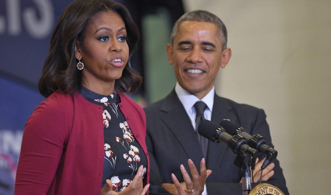 ميشيل أوباما زوجة الرئيس الأميركي الأسبق باراك أوباما