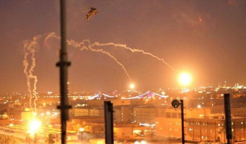 صواريخ سقطت على المنطقة الخضراء في بغداد