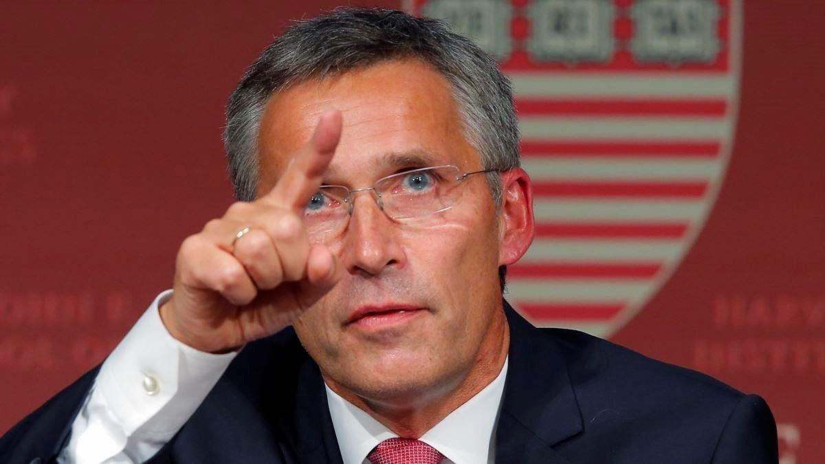 الأمين العام لحلف شمال الأطلسي ينس ستولتنبرغ.