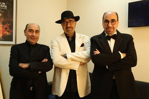 الفنانون الإخوة: أسامة، مروان، وغدي الرحباني