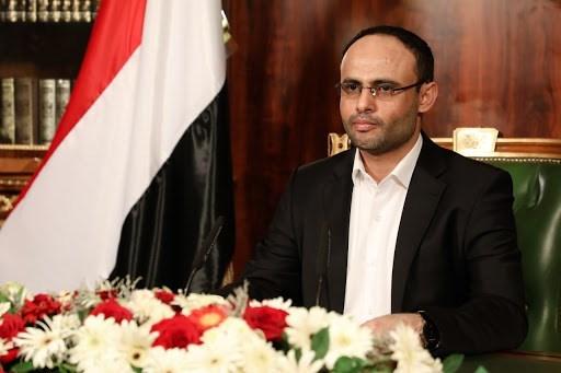 رئيس المجلس السياسي الأعلى في اليمن مهدي المشاط.
