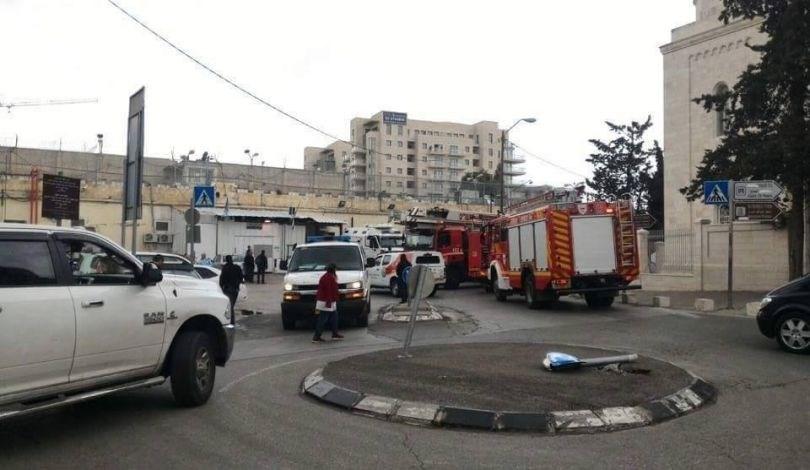 سجن المسكوبية الإسرئيلي في القدس المحتلة