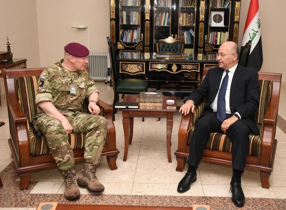 الرئيس العراقي لجون لوريمر: الحرب على الإرهاب لا تزال قائمة