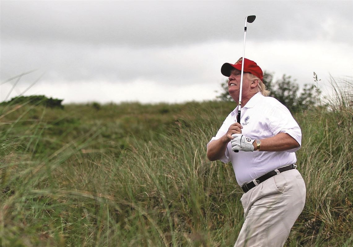 ترامب ينسحب من قمة العشرين للعب الغولف