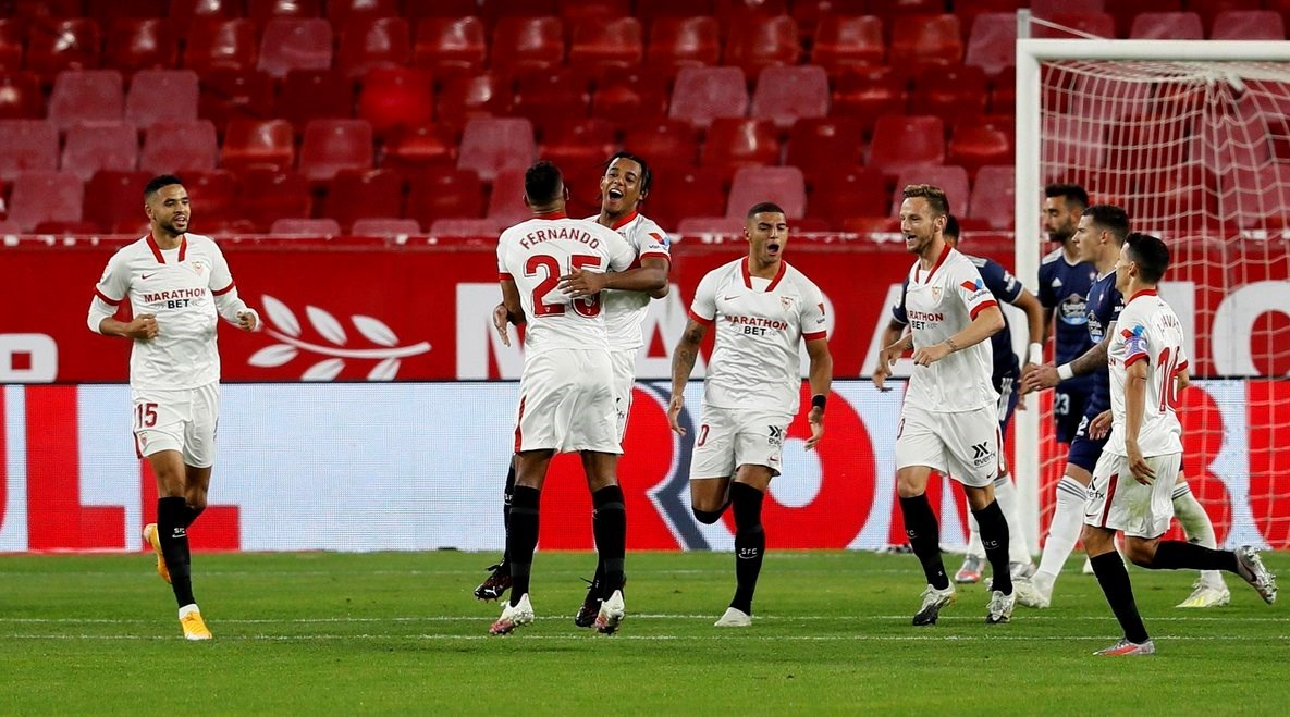 فاز إشبيلية على سلتا فيغو 4-2