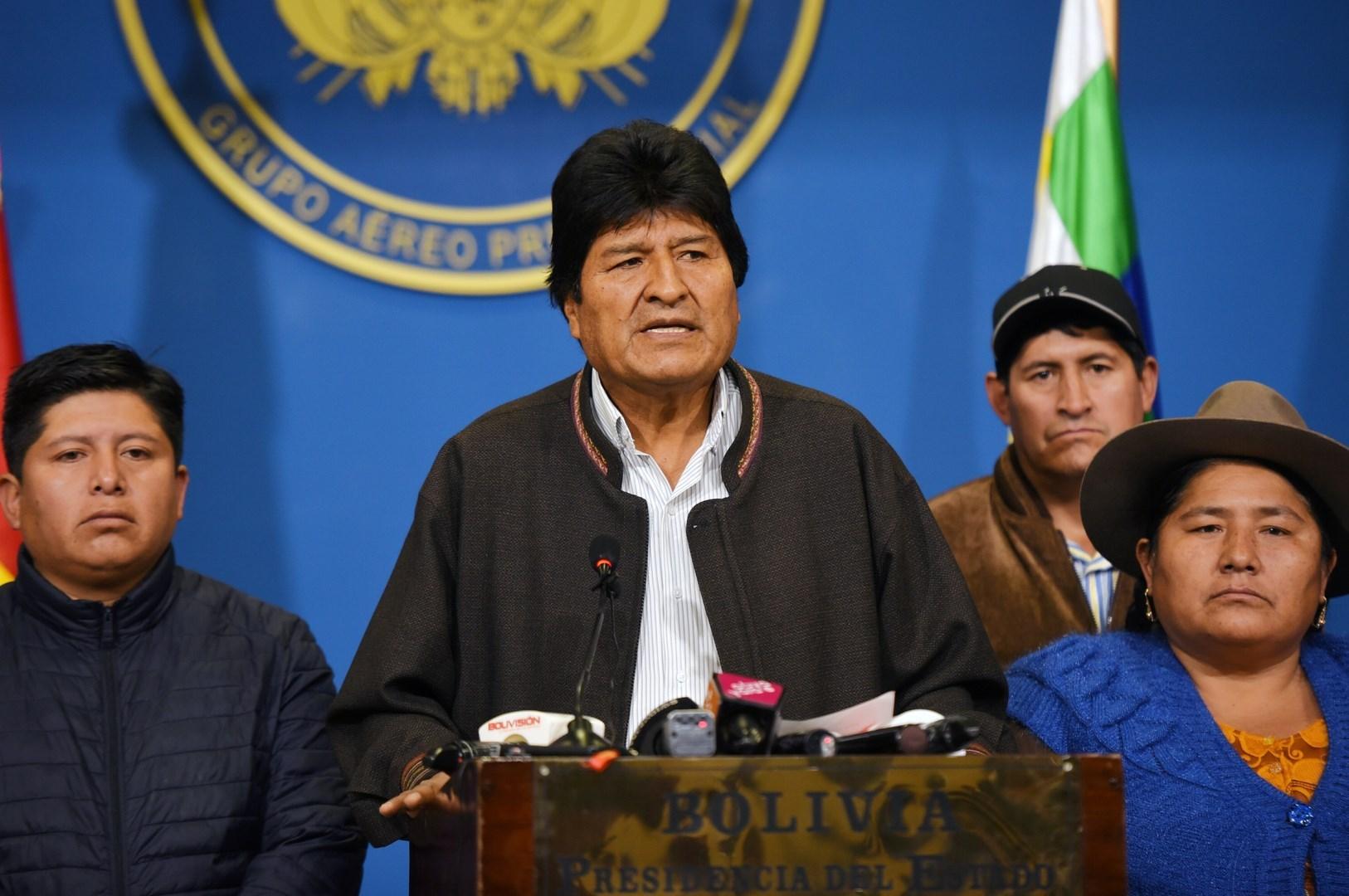 الزعيم البوليفيّ إيفو موراليس
