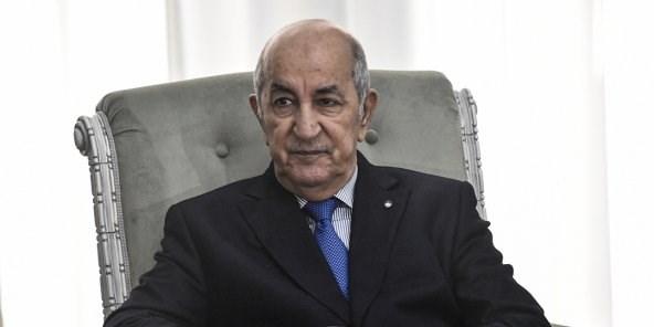 الرئيس تبون آثر عدم الرد على الرسالة الإماراتيّة تفادياً لتأزيم الوضع الإقليمي والعربي (أ.ف.ب)