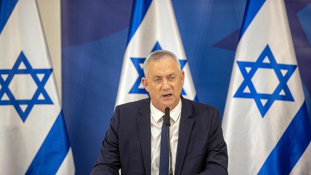 وزير الأمن الإسرائيلي بيني غانتس