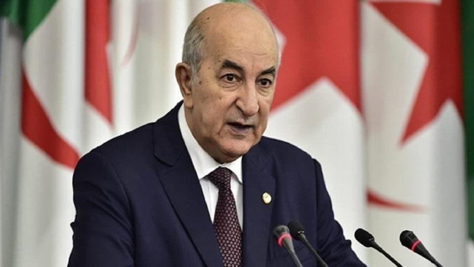 الرئيس الجزائري عبد المجيد تبون تعافى من فيروس كورونا
