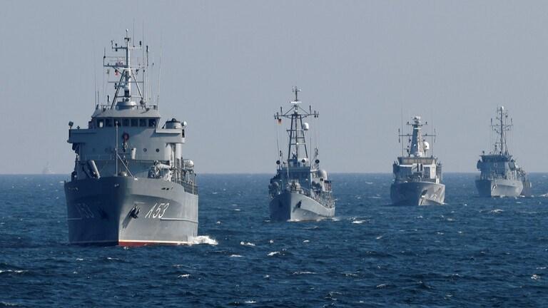فرقاطات من البحرية الألمانية