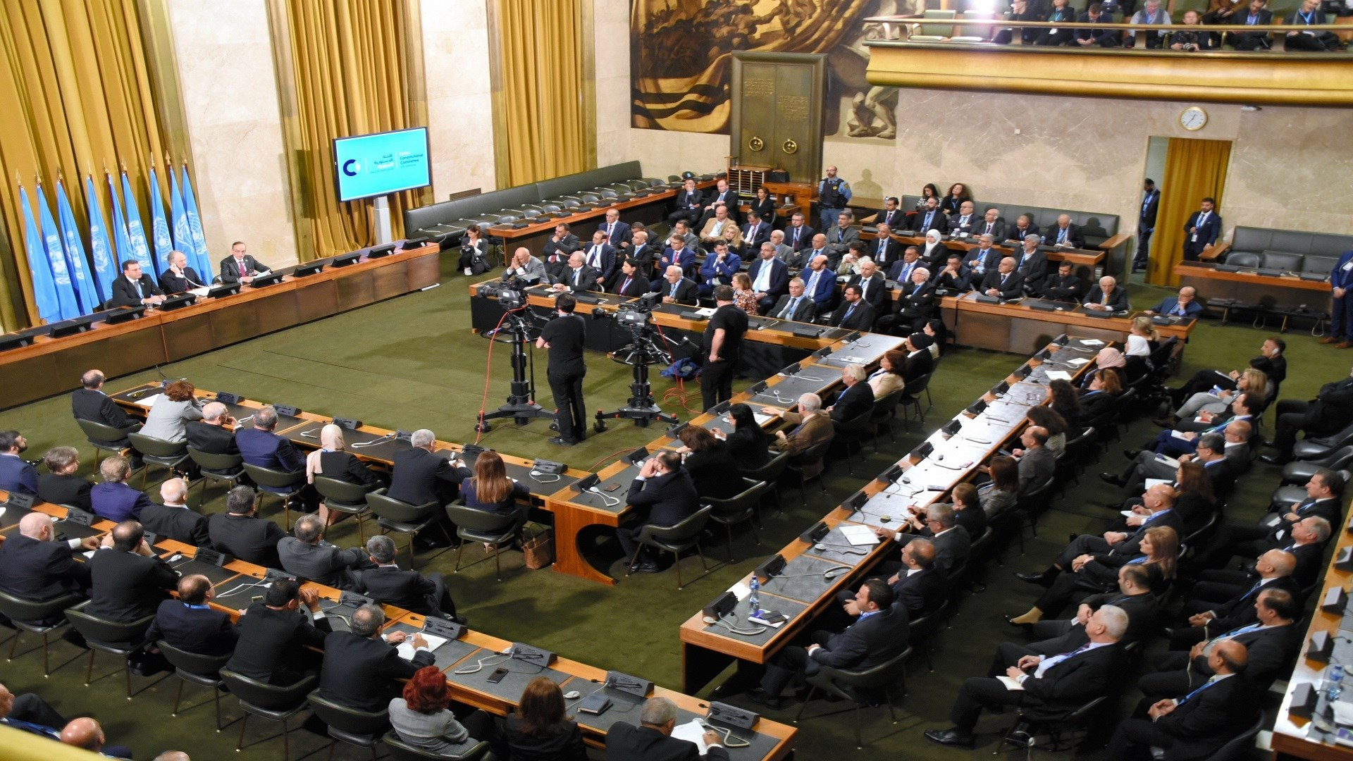 الجولة المقبلة في جنيف ستواصل مناقشة جدول أعمال الجلسة الثالثة حول الأسس والمبادئ الوطنية (أرشيف)