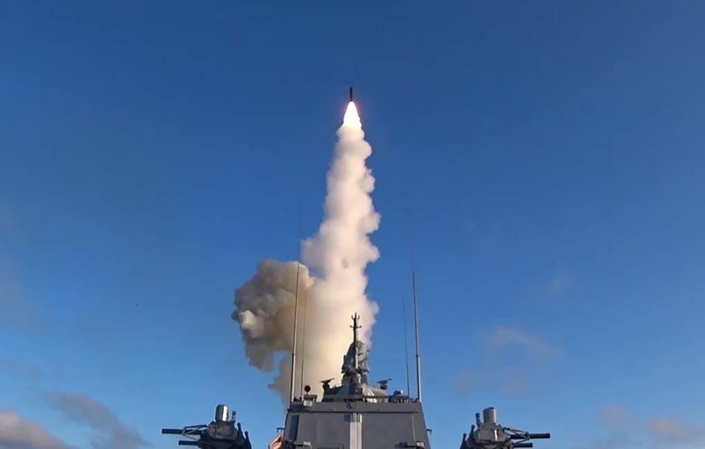 بالفيديو: صاروخ