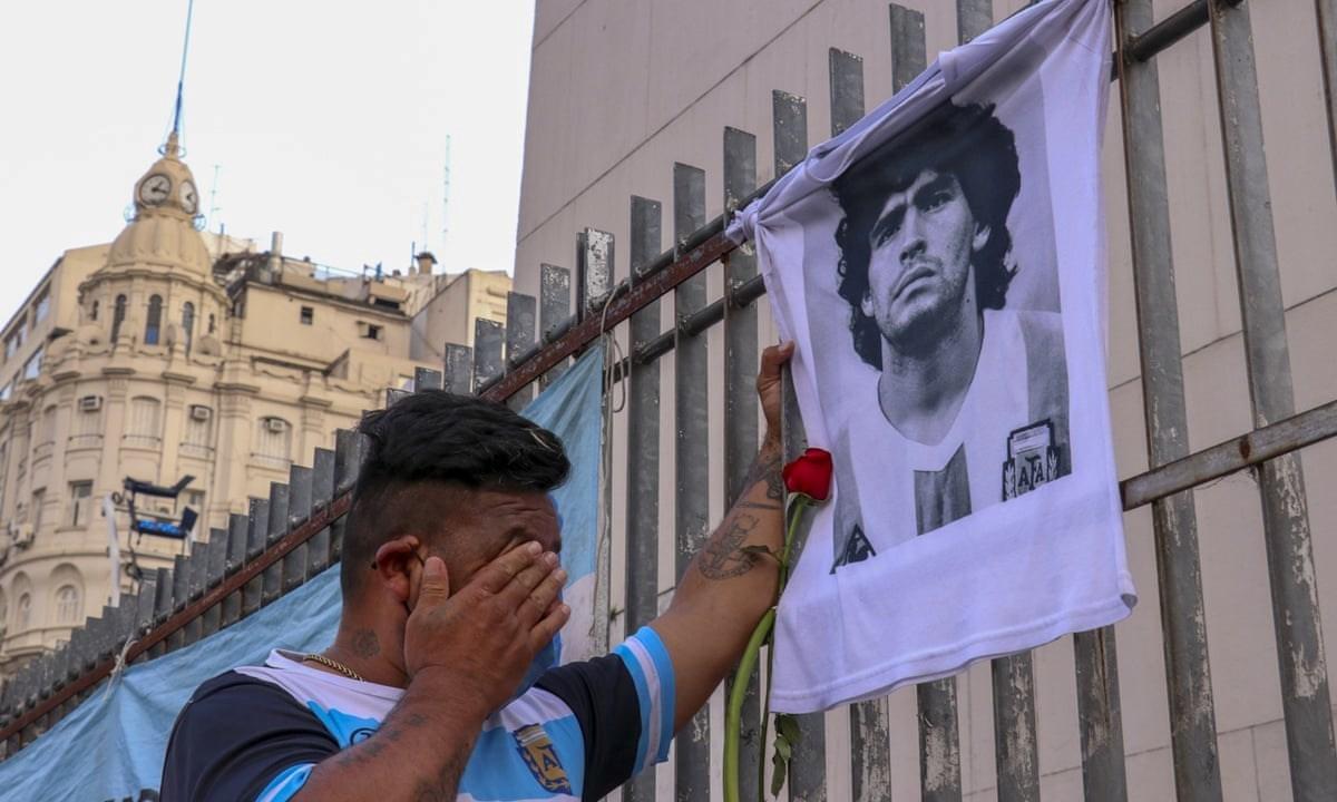 دموع في الأرجنتين
