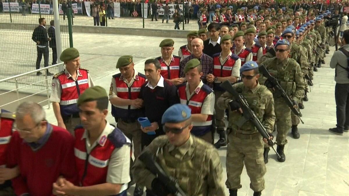 تركيا: أحكام بالمؤبد على نحو 500 شخص متهم بمحاولة الانقلاب الفاشلة