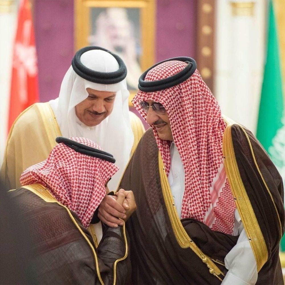 الأمير محمد بن نايف وولي العهد السعودي (صورة أرشيفية)