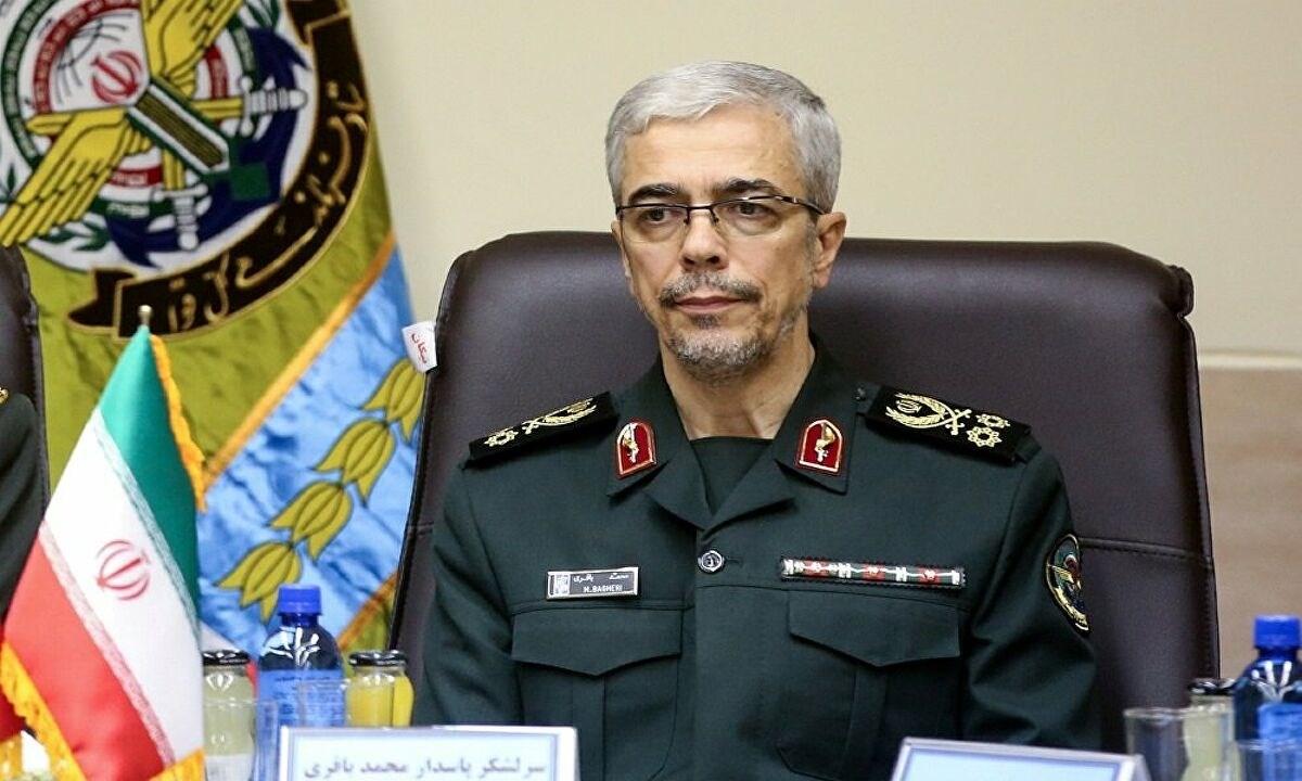 رئيس الأركان العامة للقوات المسلحة الإيرانية اللواء محمد باقري