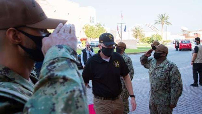 ميلر يتفقد القواعد الأميركية في البحرين وقطر في زيارة غير معلنة مسبقاً