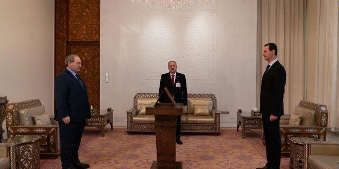 المقداد يؤدي اليمين الدستورية وزيراً للخارجية والمغتربين