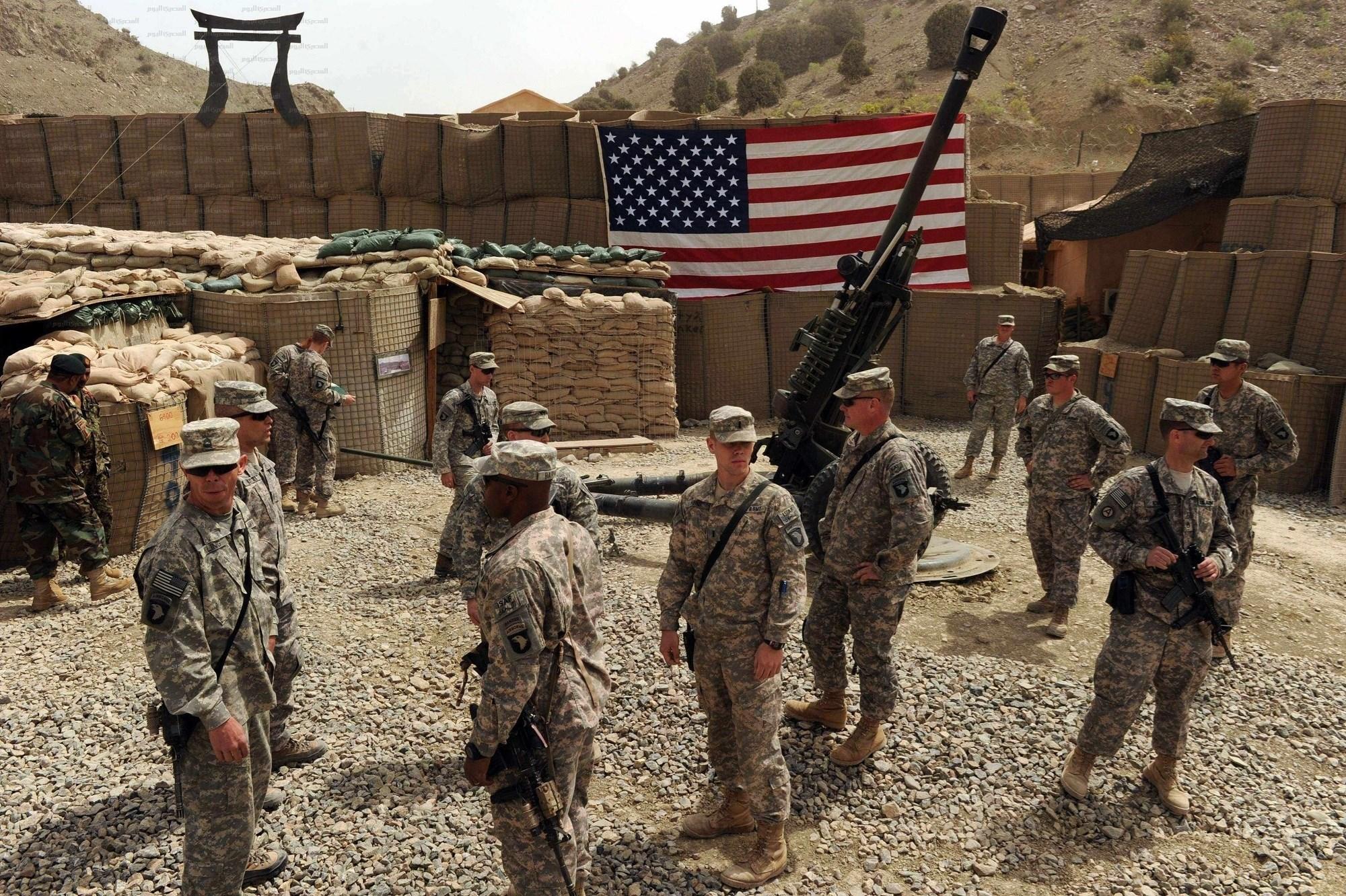 الانسحاب من أفغانستان هدية ترامب لجو بايدن