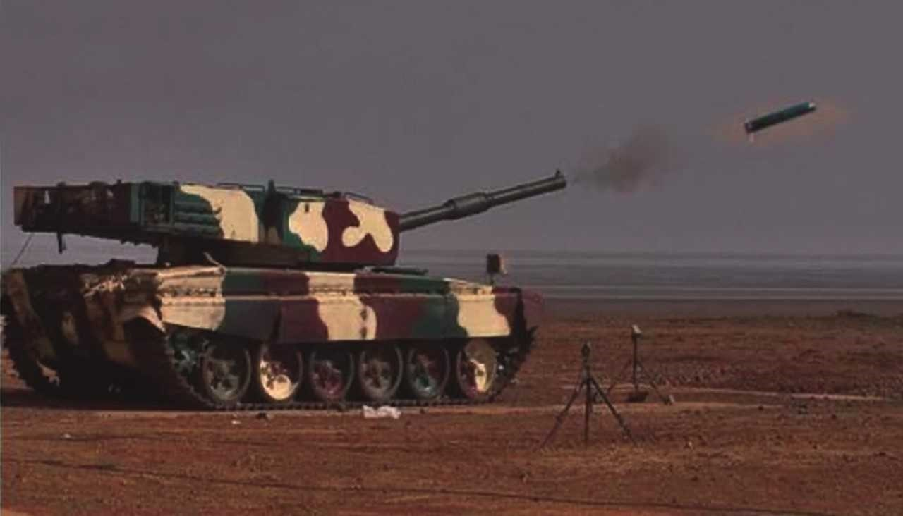 صاروخ جديد موجّه بالليزر مضاد للدبابات