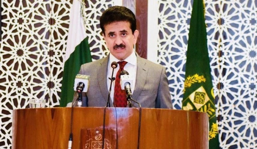 المتحدث باسم الخارجية الباكستانية زاهد حفيظ جودري.