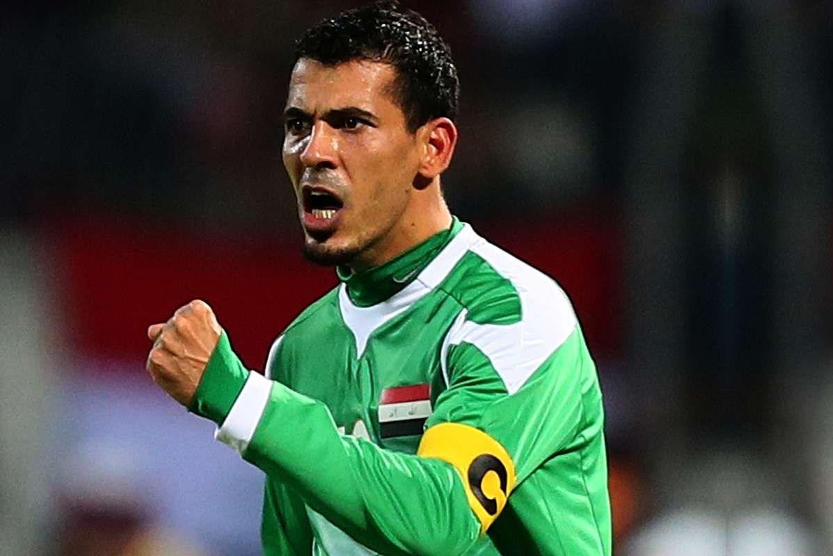 النجم العراقي السابق يونس محمود