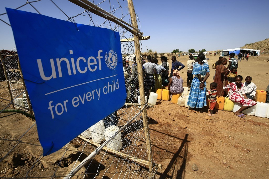 لاجئون إثيوبيون في مخيم أم ركوبة في محافظة القضارف بشرق السودان (أ ف ب).