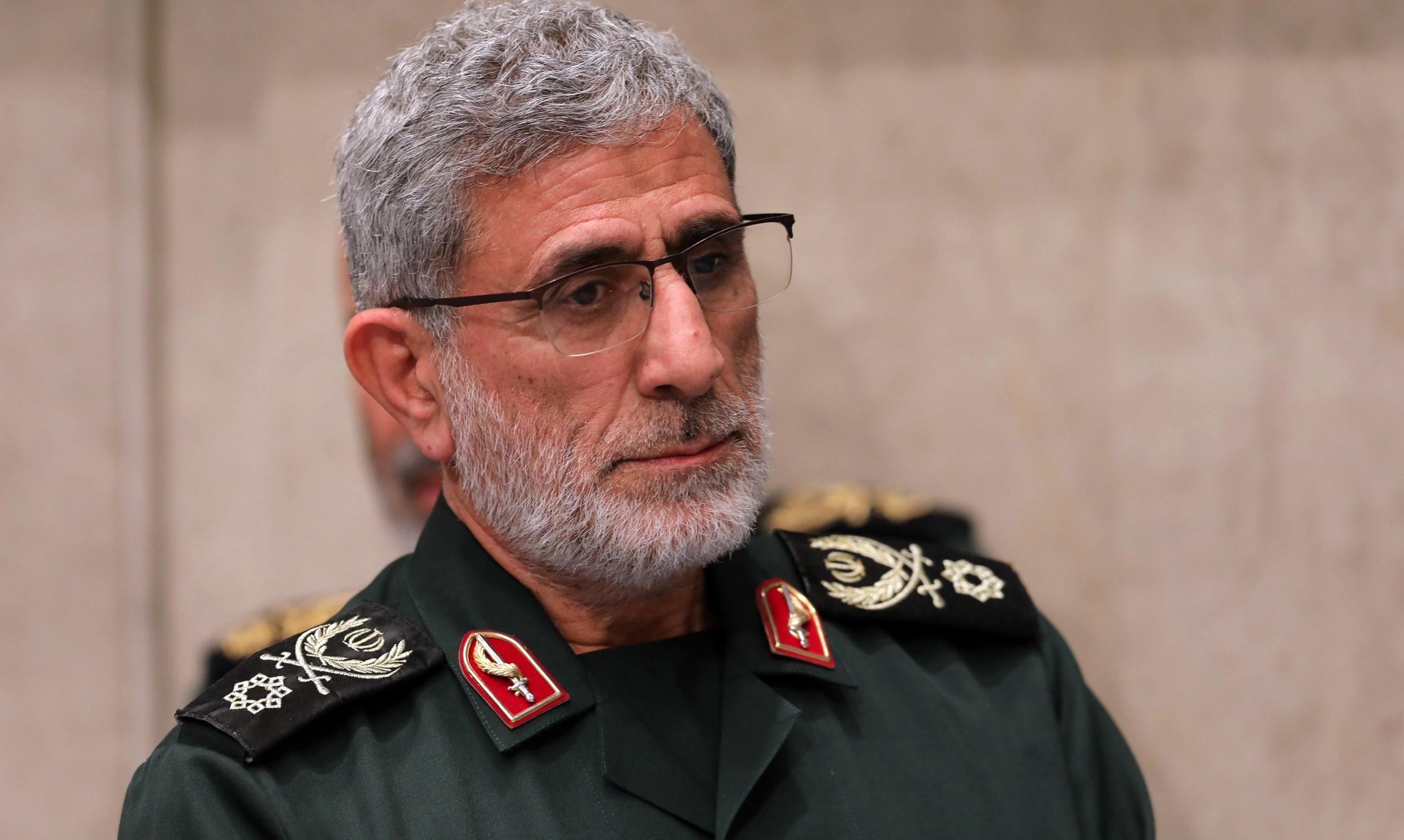 قاآني: العدو لا يتجرأ على خوض حرب كالرجال مع إيران