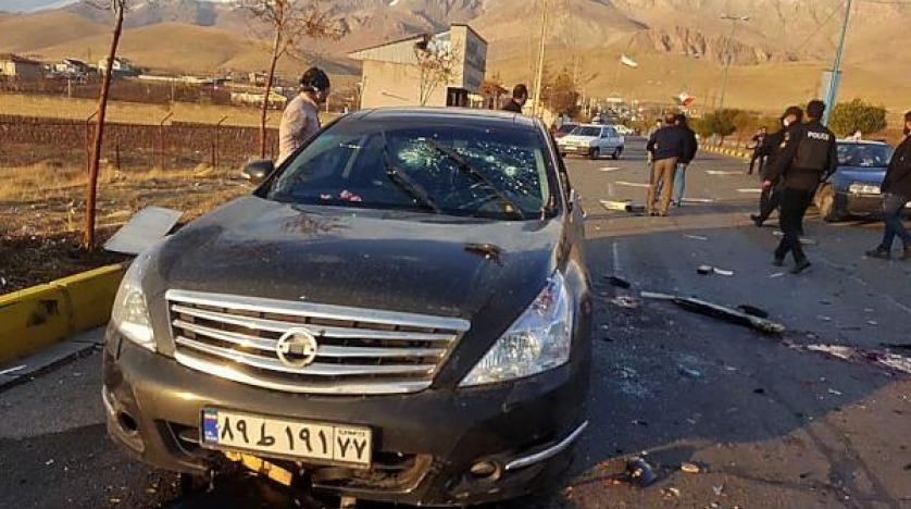 اعترضت سيارة محملة بالمتفجرات موكب العالم الإيراني وانفجرت أمامه