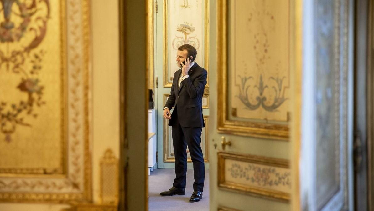أكد ماكرون خلال اتصال هاتفيّ مع الرئيس عباس احترامه للإسلام والعالم الإسلاميّ