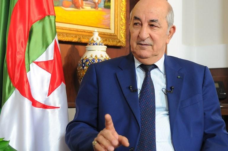الرئاسة الجزائرية: إصابة رئيس البلاد بفيروس كورونا