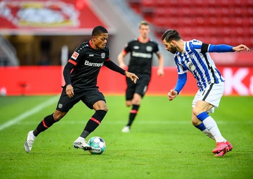 تعادل باير ليفركوزن أمام هيرتا برلين 0-0