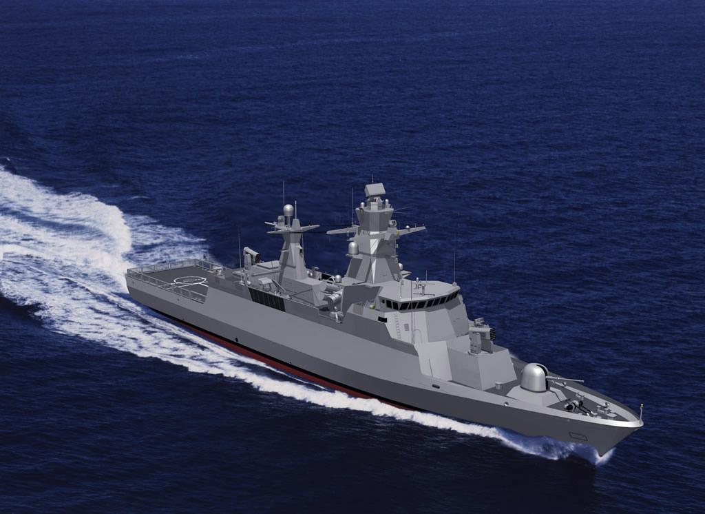 البحرية الإسرائيلية تحصل على أول سفن الصواريخ الحربية