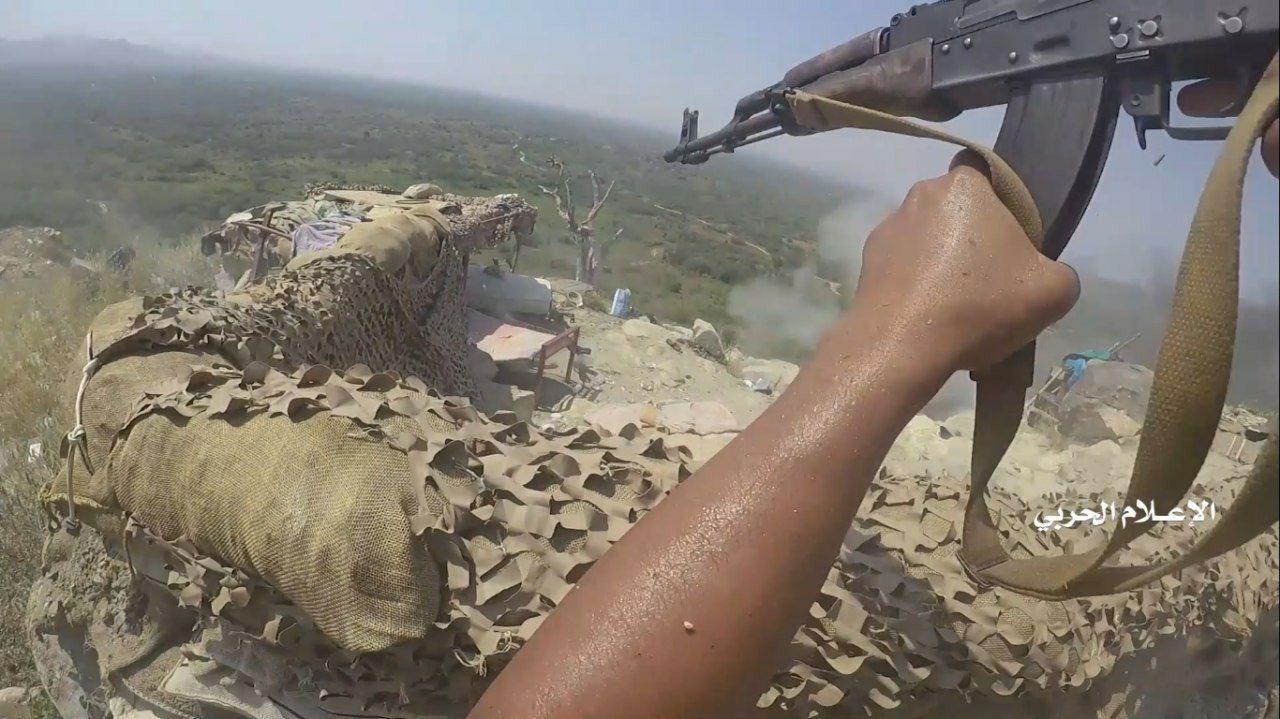 عملية إغارة للقوات المسلحة اليمنية على تلة الجيش في وادي جارة